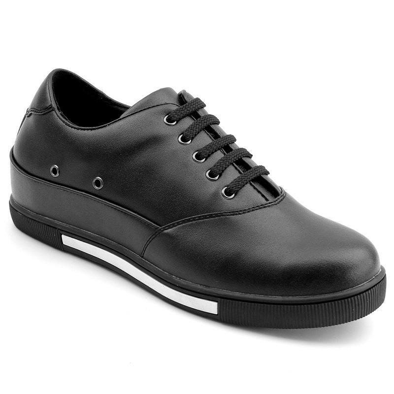 男士增高鞋 内增高板鞋 内增高7cm 黑色 商品货号:LK1941【乐昂】