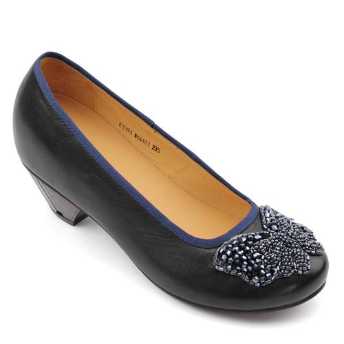 女士增高鞋 内增高单鞋 内增高7.5cm 黑色 商品货号:W66A01【赫升】