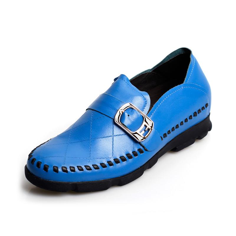 [何金昌]英伦男士休闲内增高皮鞋 时尚增高鞋 增高6.5CM 1144