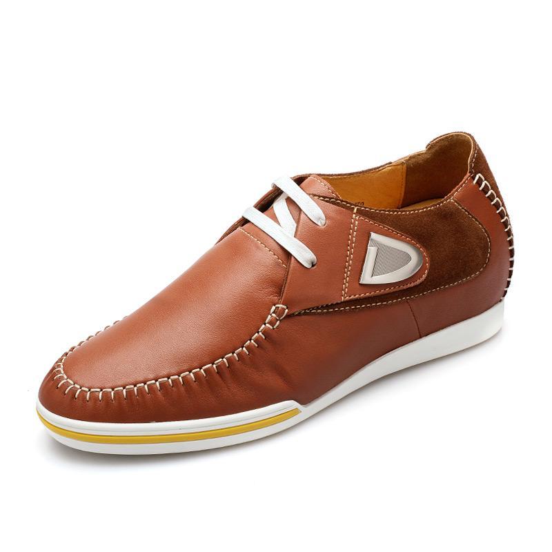 大气内控商务内增高男款休闲鞋