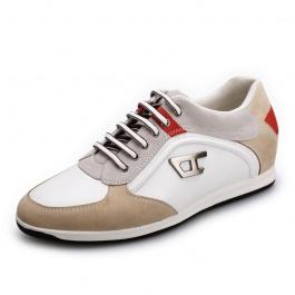 【何金昌】<任选两双>内增高休闲鞋潮流男士休闲增高鞋增高6CM1534