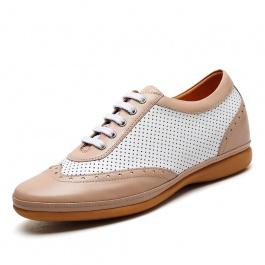 【何金昌】2016新款时尚休闲鞋 男士内增高休闲鞋 增高6cm 1795