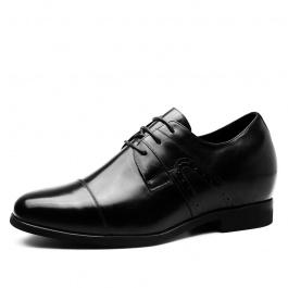 【何金昌】皮鞋新款隐形增高男皮鞋增高7CM