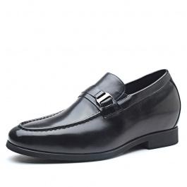 【何金昌】新款增高男鞋商务正装内增高皮鞋隐形增高7CM