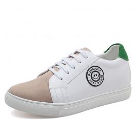 【乐昂】新爆款彩尾时尚板鞋夏季透气板鞋内增高板鞋6CM