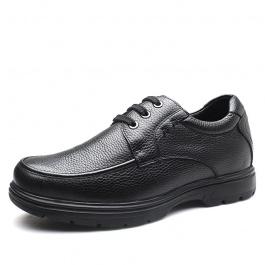 【何金昌】舒适增高6厘米男士休闲商务皮鞋
