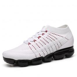 【何金昌】时尚白色太空鞋 活力无限男士增高运动鞋 7CM