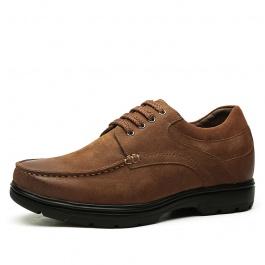 【何金昌】男士休闲增高皮鞋 商务休闲皮鞋内增高 6CM