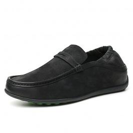 【何金昌】2018新款商务休闲皮鞋 男士内增高商务休闲皮鞋 舒适增高6CM