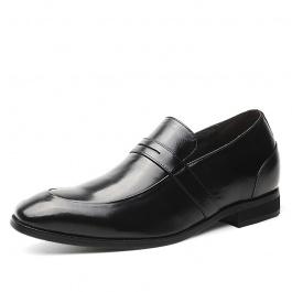 【何金昌】2018春新款男士内增高皮鞋 新款增高男皮鞋 7CM