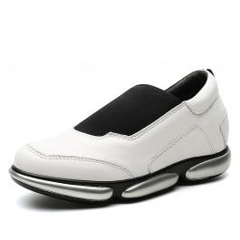 【赫升】内增高鞋女鞋新款,女士隐形增高鞋时尚板鞋7CM
