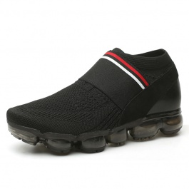 【何金昌】时尚内增高鞋,男士隐形增高鞋黑色7CM