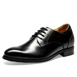 【何金昌】新款时尚正装内增高皮鞋增高7.5CM