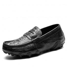 【金墨瑞】全鳄鱼皮定制内增高鞋 尊贵商务臻选 6CM