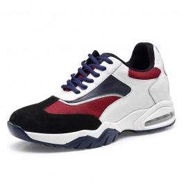 【何金昌】隐形潮流男士内增高运动鞋新款休闲清爽透气运动内增高鞋7cm