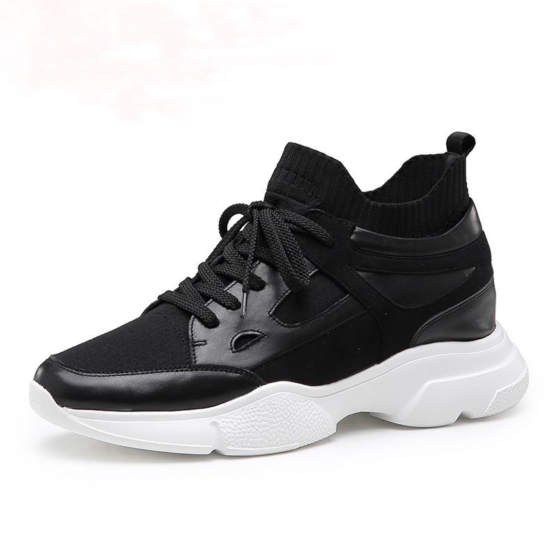 【何金昌】新款男士休闲运动鞋增高8CM