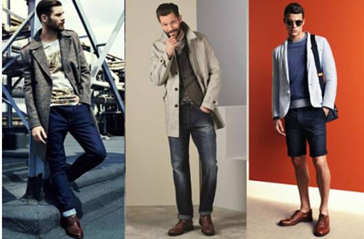 牛津鞋+牛仔裤搭配