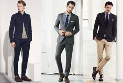 西装如何搭配皮鞋-男士休闲皮鞋如何合理搭配西装?