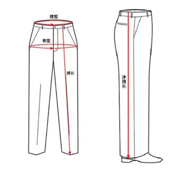 裤子改肥的步骤图片