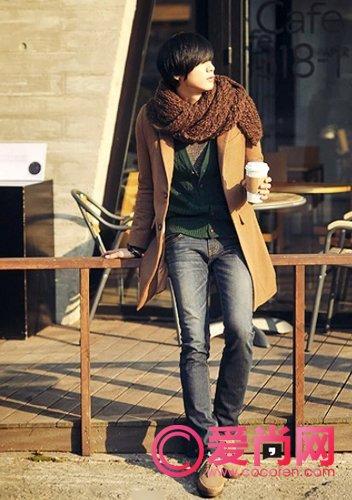男生冬天时尚搭配 要温暖更要时尚