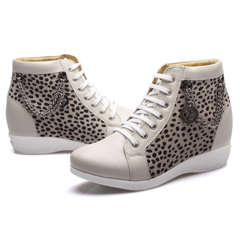 赫升女士内增高鞋休闲系列